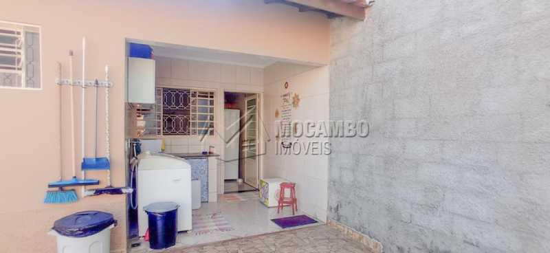 Lavanderia - Casa 3 quartos à venda Itatiba,SP - R$ 415.000 - FCCA31446 - 3