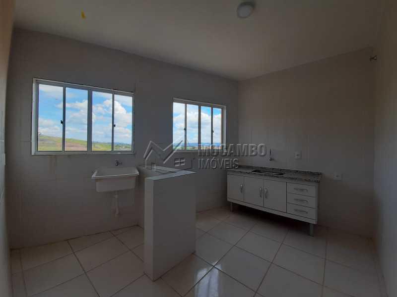 Cozinha/Lavanderia - Kitnet/Conjugado 28m² à venda Itatiba,SP - R$ 130.000 - FCKI10031 - 5