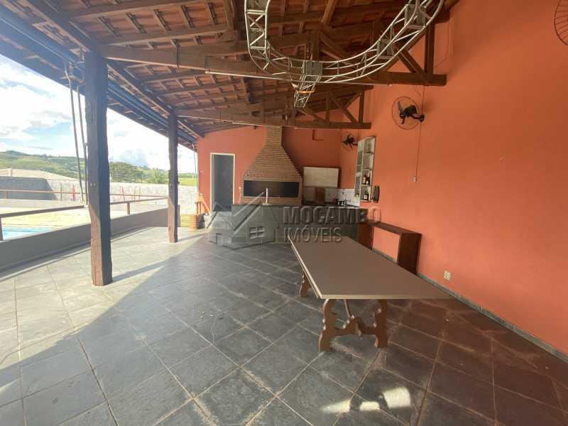 Salão da churrasqueira - Chácara 1000m² à venda Itatiba,SP - R$ 700.000 - FCCH20070 - 23