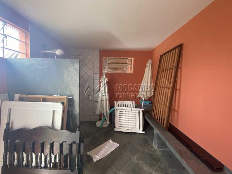 Banheiro da área gourmet - Chácara 1000m² à venda Itatiba,SP - R$ 700.000 - FCCH20070 - 27