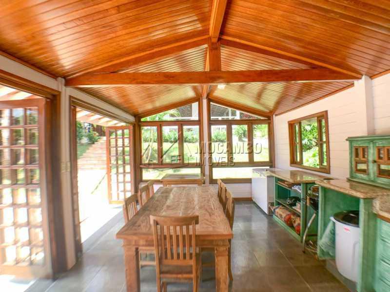 Espaço Gourmet - Casa em Condomínio 3 quartos à venda Itatiba,SP - R$ 980.000 - FCCN30533 - 18