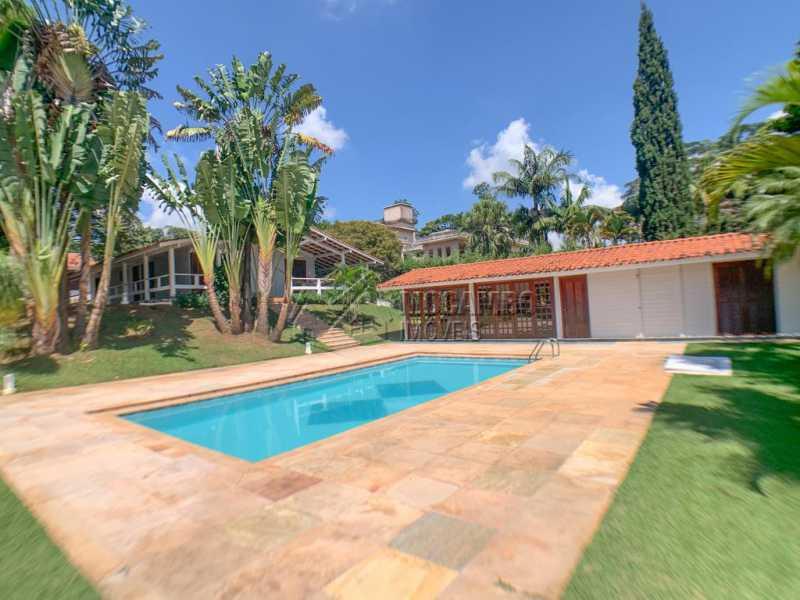 Piscina e Fachada Interna - Casa em Condomínio 3 quartos à venda Itatiba,SP - R$ 980.000 - FCCN30533 - 3