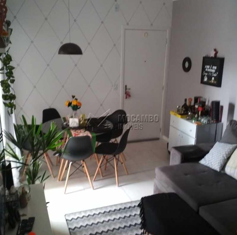 Sala - Apartamento 2 quartos para alugar Itatiba,SP - R$ 1.300 - FCAP21245 - 5