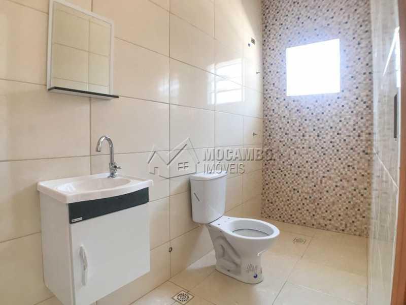 Banheiro Suíte - Casa 2 quartos à venda Itatiba,SP - R$ 260.000 - FCCA21472 - 8
