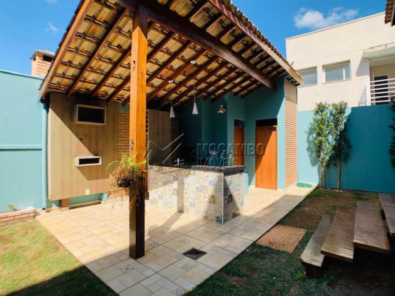 Área de Serviço  - Casa em Condomínio 3 quartos à venda Itatiba,SP - R$ 850.000 - FCCN30535 - 3