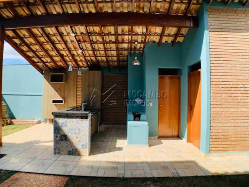 Área de Serviço  - Casa em Condomínio 3 quartos à venda Itatiba,SP - R$ 850.000 - FCCN30535 - 4