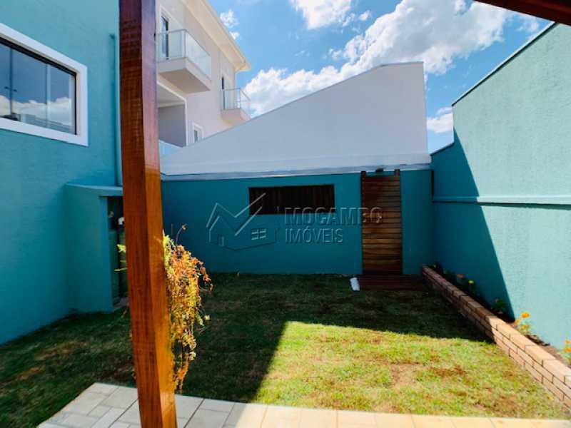 Quintal - Casa em Condomínio 3 quartos à venda Itatiba,SP - R$ 850.000 - FCCN30535 - 6