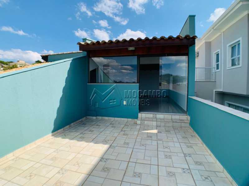 Varanda  - Casa em Condomínio 3 quartos à venda Itatiba,SP - R$ 850.000 - FCCN30535 - 24