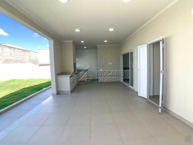 Espaço Gourmet - Casa em Condomínio 4 quartos à venda Itatiba,SP - R$ 1.250.000 - FCCN40185 - 19