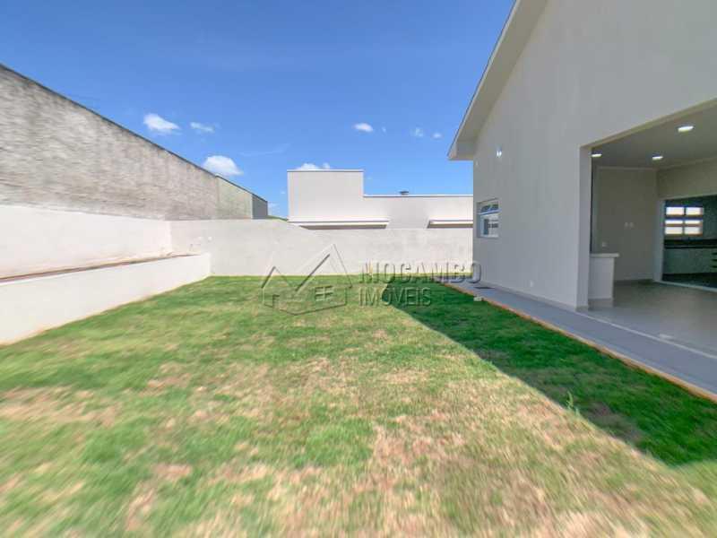 Quintal - Casa em Condomínio 4 quartos à venda Itatiba,SP - R$ 1.250.000 - FCCN40185 - 26