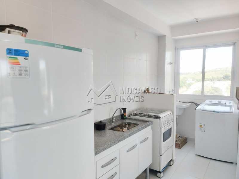Cozinha  - Apartamento 1 quarto para alugar Itatiba,SP - R$ 1.550 - FCAP10099 - 4