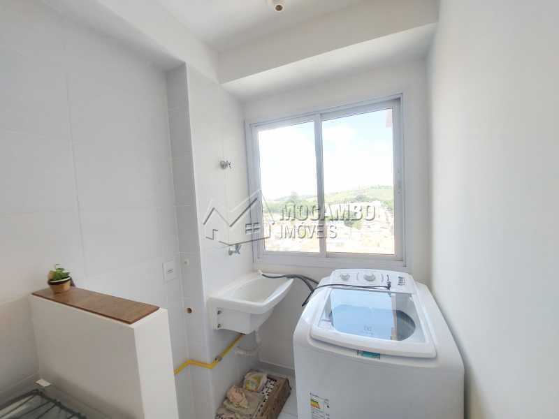 Lavanderia  - Apartamento 1 quarto para alugar Itatiba,SP - R$ 1.550 - FCAP10099 - 6