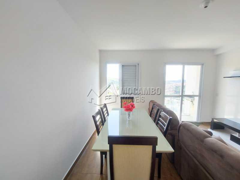 Sala de Jantar  - Apartamento 1 quarto para alugar Itatiba,SP - R$ 1.550 - FCAP10099 - 3
