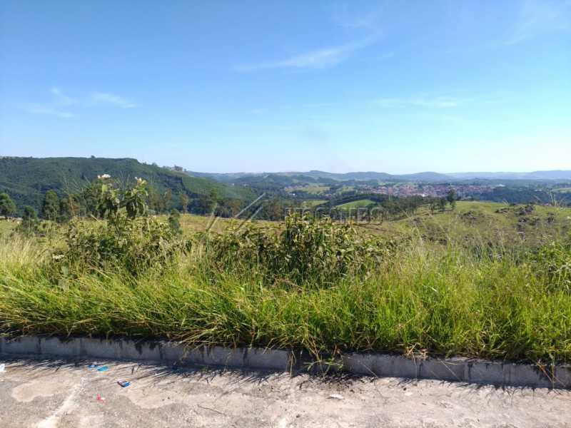 Vista do Terreno - Terreno 290m² à venda Itatiba,SP - R$ 120.000 - FCUF01453 - 3
