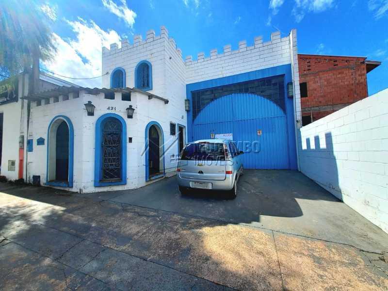 Fachada - Galpão 270m² para alugar Itatiba,SP - R$ 3.200 - FCGA10004 - 1