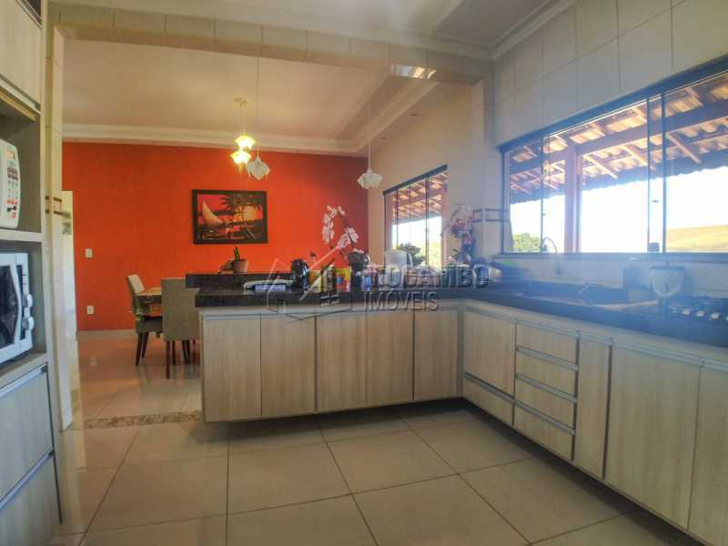 Cozinha - Casa em Condomínio 3 quartos à venda Itatiba,SP - R$ 780.000 - FCCN30537 - 12