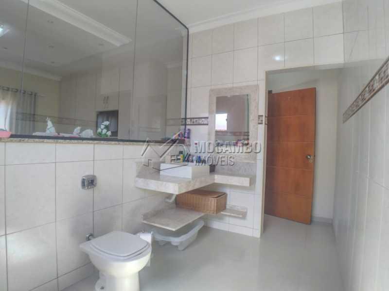 Banheiro suíte - Casa em Condomínio 3 quartos à venda Itatiba,SP - R$ 780.000 - FCCN30537 - 20