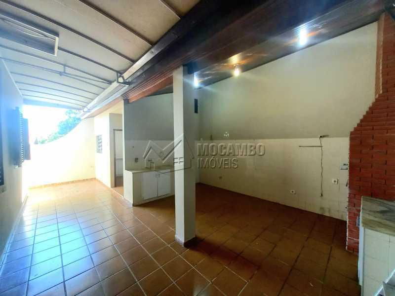 Area da churrasqueira - Casa 5 quartos para alugar Itatiba,SP - R$ 3.200 - FCCA50029 - 31