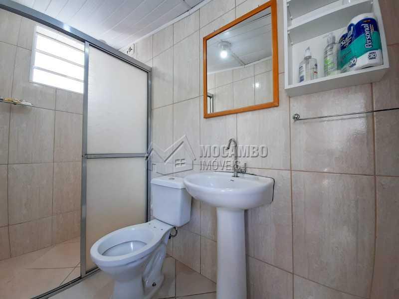 Banheiro da churrasqueira. - Casa 2 quartos à venda Itatiba,SP - R$ 365.000 - FCCA21477 - 13