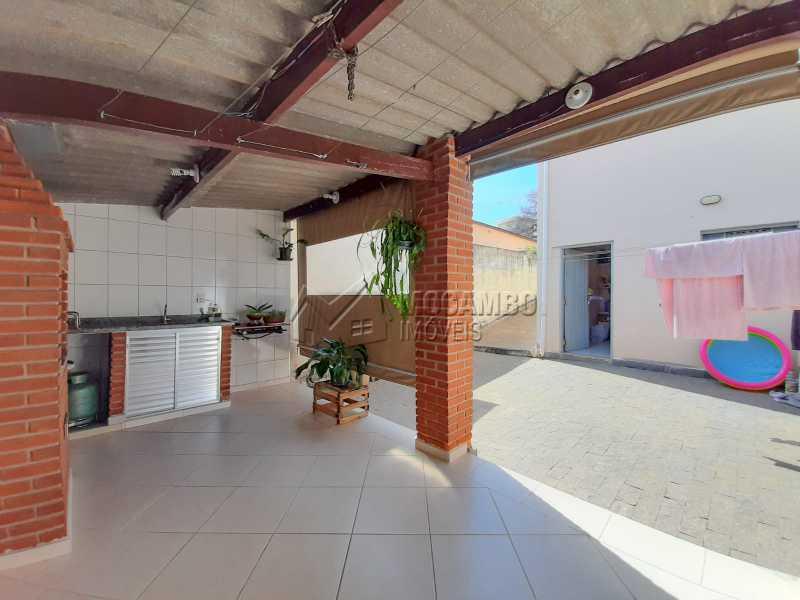 Quintal. - Casa 2 quartos à venda Itatiba,SP - R$ 365.000 - FCCA21477 - 14