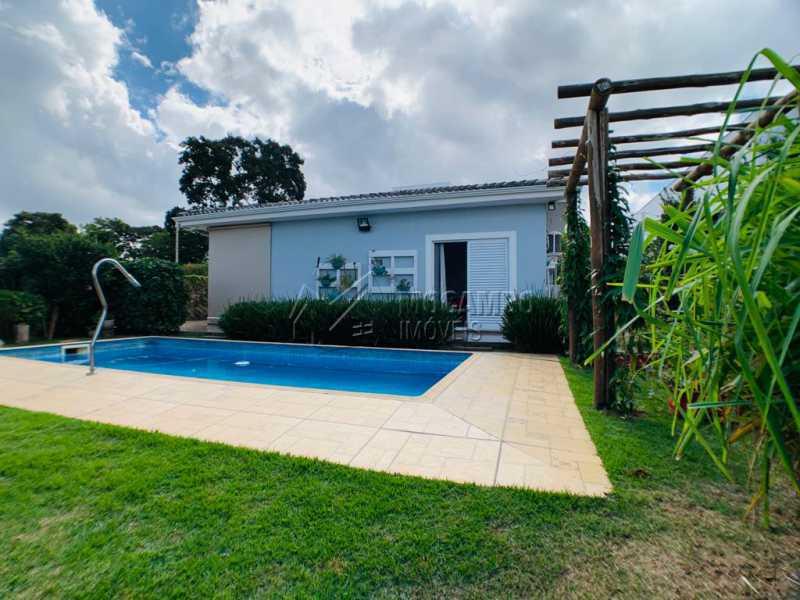 Área Externa  - Casa em Condomínio 3 quartos à venda Itatiba,SP - R$ 850.000 - FCCN30538 - 4