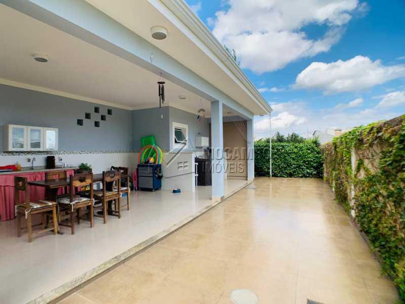 Área Externa  - Casa em Condomínio 3 quartos à venda Itatiba,SP - R$ 850.000 - FCCN30538 - 6