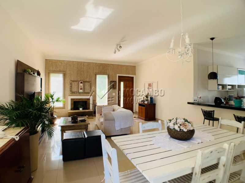 Sala - Casa em Condomínio 3 quartos à venda Itatiba,SP - R$ 850.000 - FCCN30538 - 11
