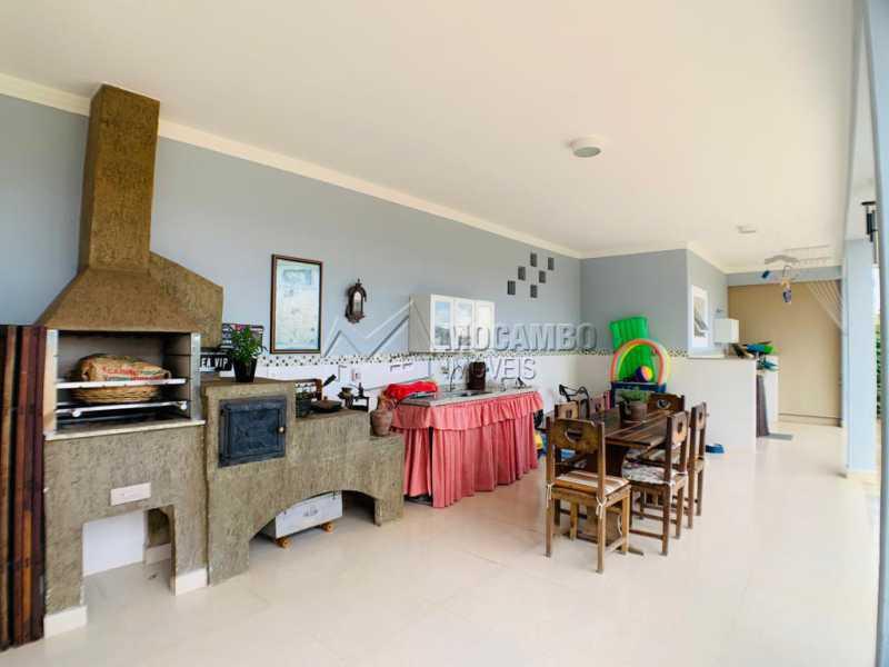 Churrasqueira  - Casa em Condomínio 3 quartos à venda Itatiba,SP - R$ 850.000 - FCCN30538 - 7