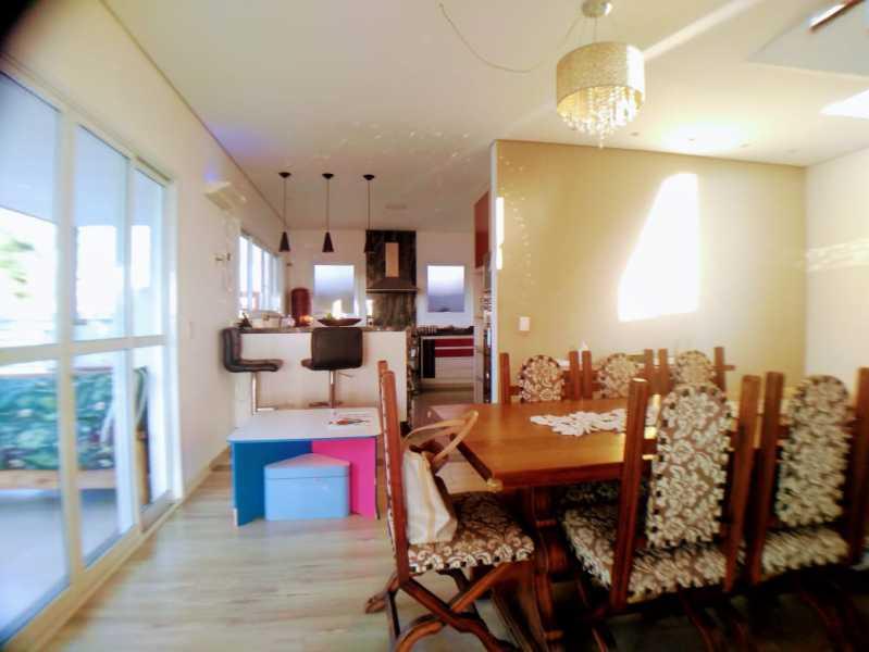 Sala Jantar - Casa em Condomínio 3 quartos à venda Itatiba,SP - R$ 950.000 - FCCN30539 - 10