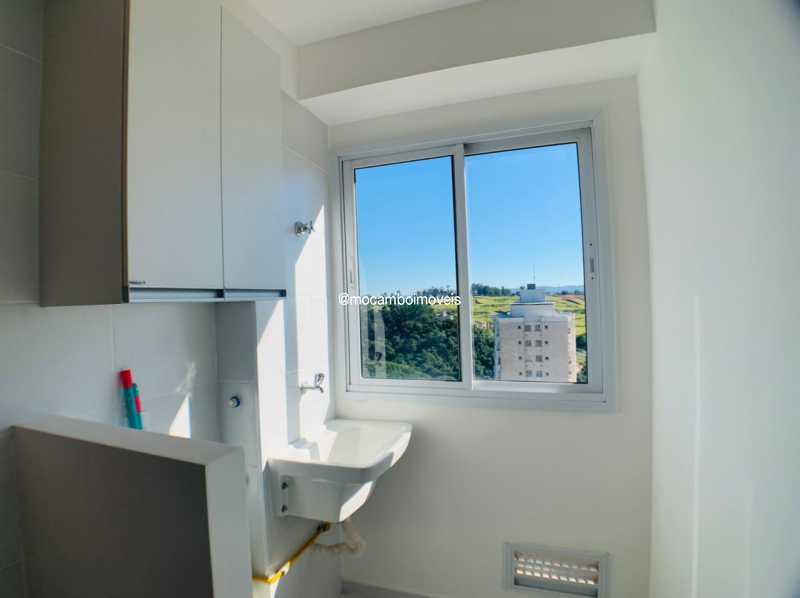 Área de serviço  - Apartamento 2 quartos à venda Itatiba,SP - R$ 225.000 - FCAP21268 - 4