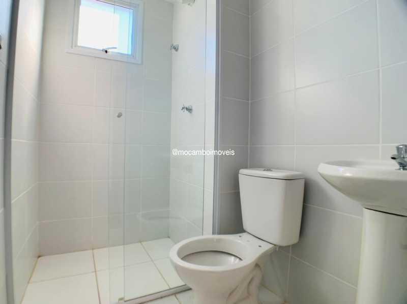 Banheiro - Apartamento 2 quartos à venda Itatiba,SP - R$ 225.000 - FCAP21268 - 7