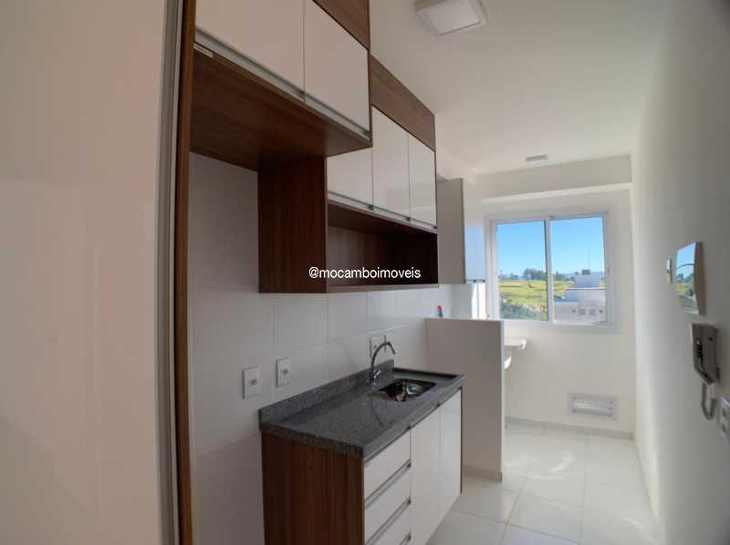 Cozinha - Apartamento 2 quartos à venda Itatiba,SP - R$ 225.000 - FCAP21268 - 3