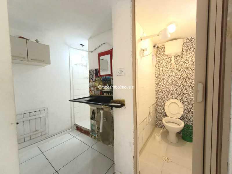 Cozinha e banheiro - Kitnet/Conjugado para alugar Itatiba,SP - R$ 450 - FCKI00005 - 6