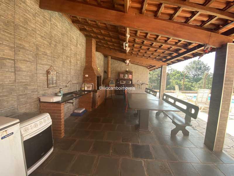 Área gourmet - Chácara à venda Itatiba,SP - R$ 1.200.000 - FCCH40034 - 3