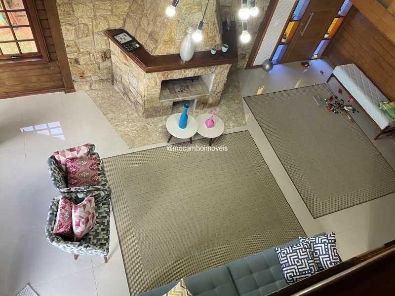 Sala de lareira - Chácara à venda Itatiba,SP - R$ 1.200.000 - FCCH40034 - 5