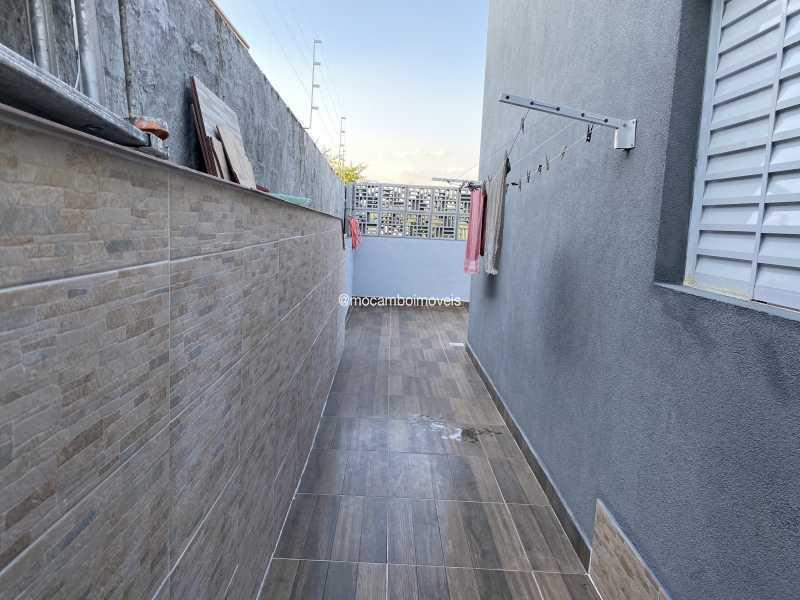 Corredor lateral - Casa 2 quartos à venda Itatiba,SP - R$ 300.000 - FCCA21485 - 9
