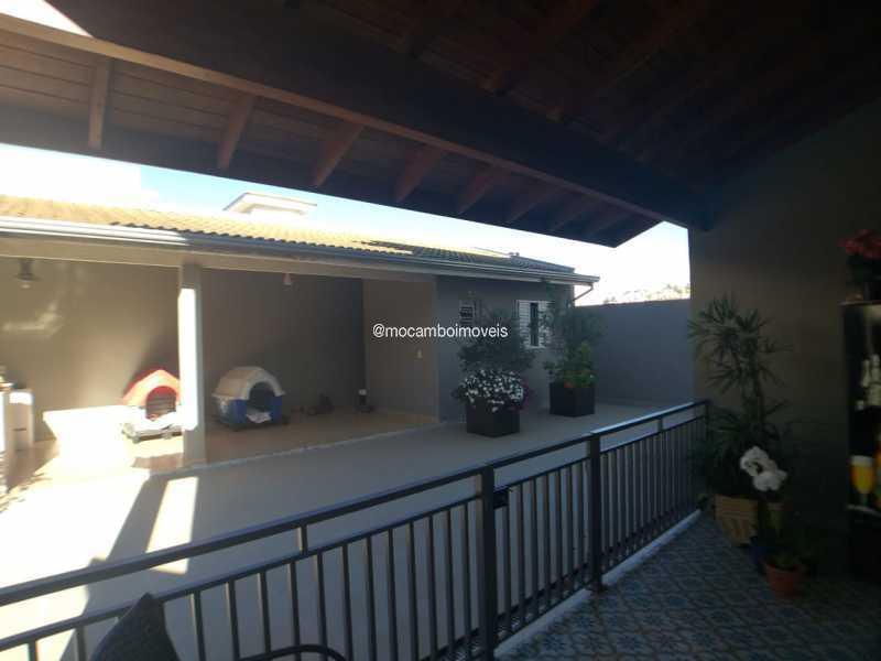 Quintal - Casa em Condomínio 3 quartos à venda Itatiba,SP - R$ 940.000 - FCCN30540 - 9