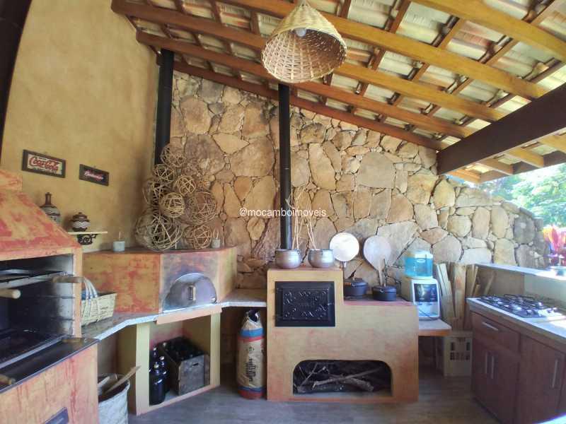Área de Churrasqueira - Casa 3 quartos para alugar Itatiba,SP - R$ 8.500 - FCCA31476 - 9