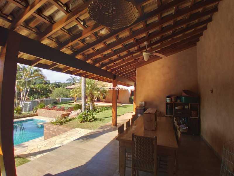 Área de Churrasqueira - Casa 3 quartos para alugar Itatiba,SP - R$ 8.500 - FCCA31476 - 10