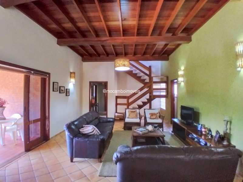 Sala de TV - Casa 3 quartos para alugar Itatiba,SP - R$ 8.500 - FCCA31476 - 16