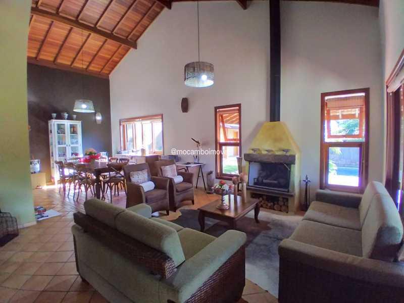 Sala de Lareira - Casa 3 quartos para alugar Itatiba,SP - R$ 8.500 - FCCA31476 - 18