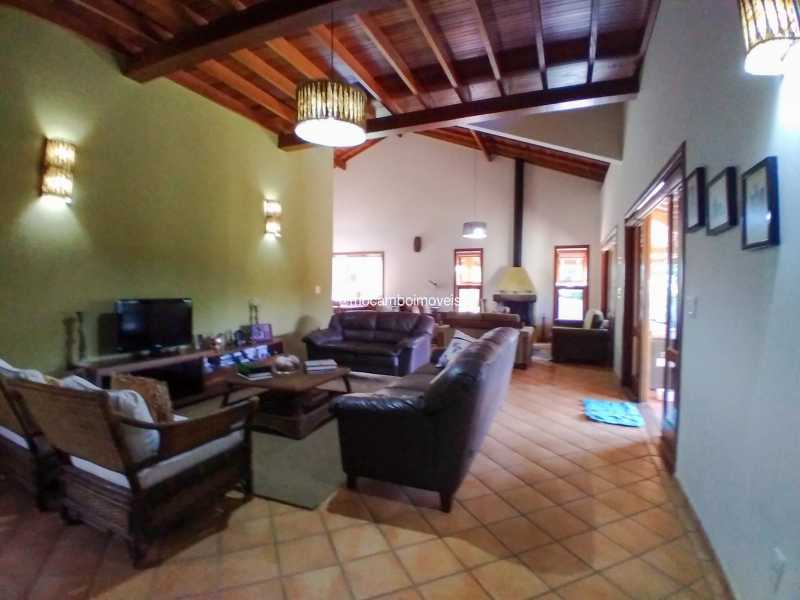 Sala de TV - Casa 3 quartos para alugar Itatiba,SP - R$ 8.500 - FCCA31476 - 17