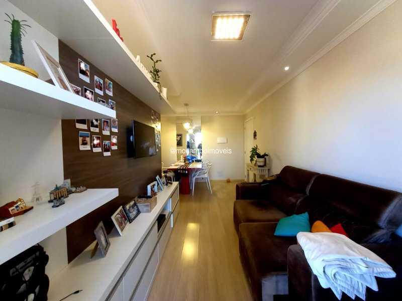 Sala - Apartamento 2 quartos para alugar Itatiba,SP - R$ 1.600 - FCAP21278 - 4