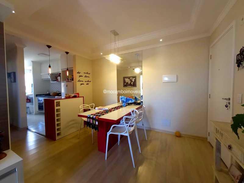 Sala de Jantar - Apartamento 2 quartos para alugar Itatiba,SP - R$ 1.600 - FCAP21278 - 5