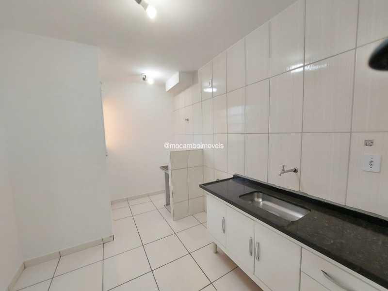 Cozinha - Apartamento 2 quartos para alugar Itatiba,SP - R$ 1.200 - FCAP21281 - 3