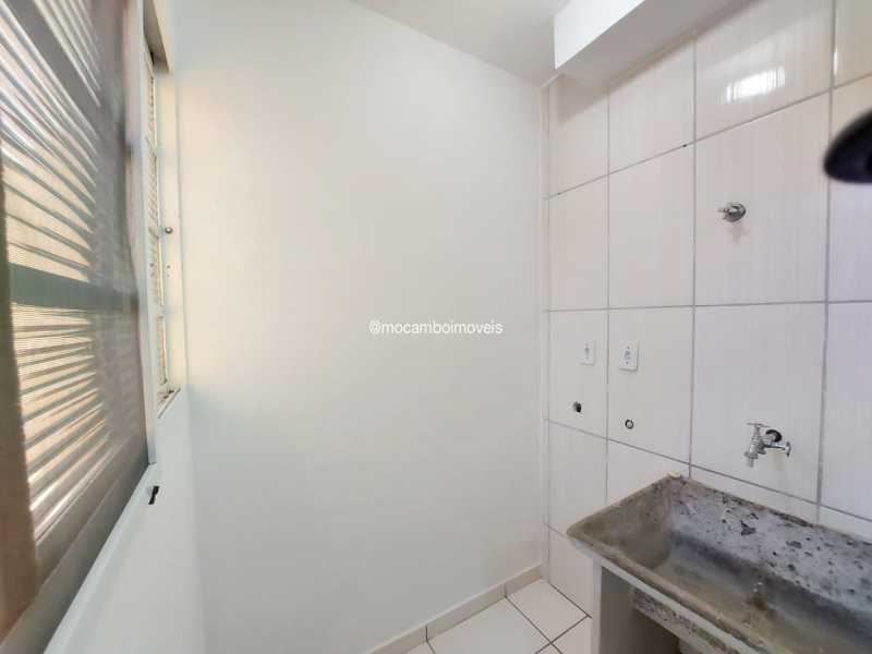 Área de Serviço  - Apartamento 2 quartos para alugar Itatiba,SP - R$ 1.200 - FCAP21281 - 7