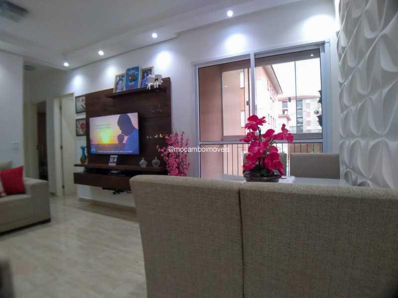 sala - Apartamento 2 quartos à venda Itatiba,SP - R$ 223.000 - FCAP21283 - 3