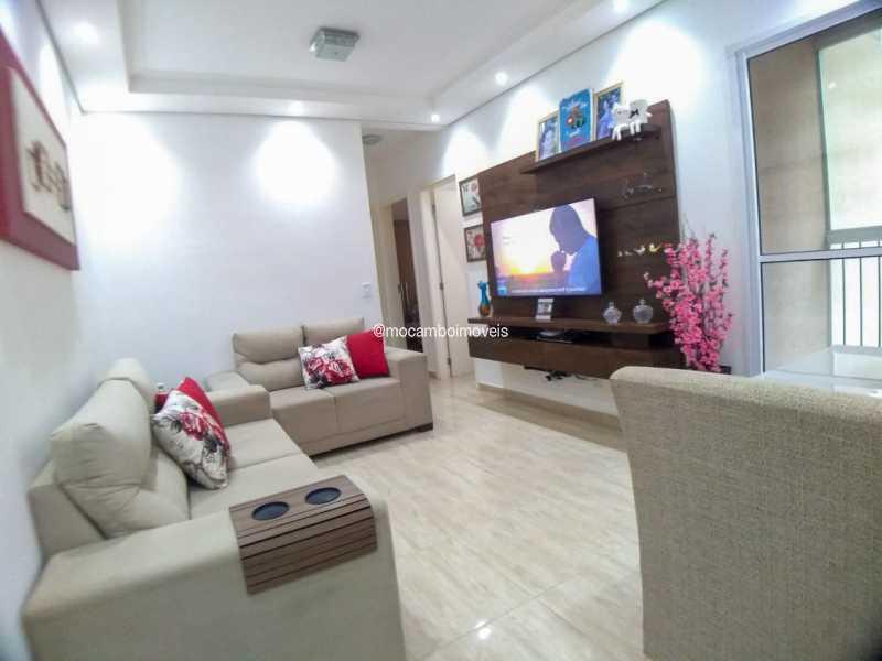 sala de estar - Apartamento 2 quartos à venda Itatiba,SP - R$ 223.000 - FCAP21283 - 4
