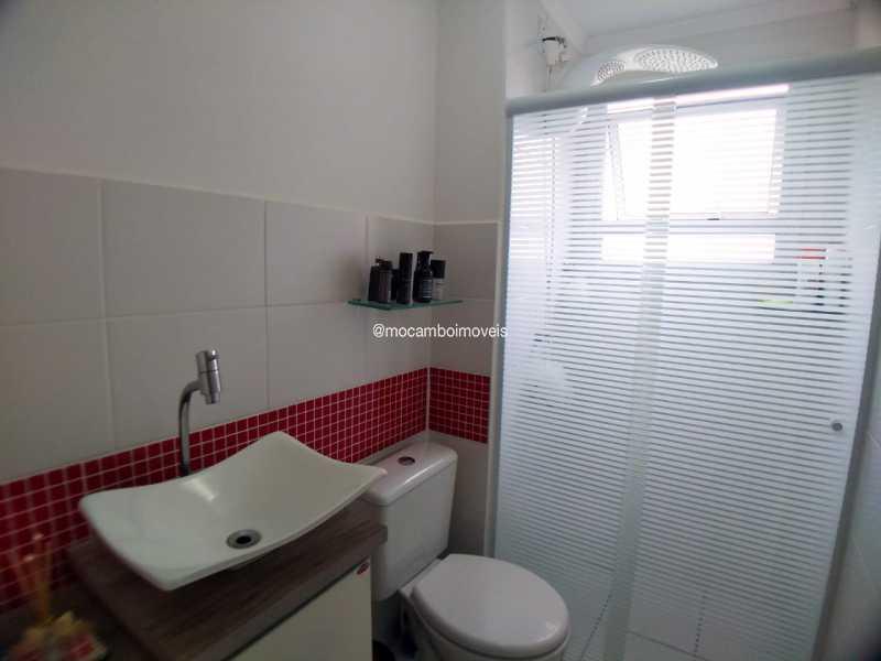 Banheiro - Apartamento 2 quartos à venda Itatiba,SP - R$ 223.000 - FCAP21283 - 10