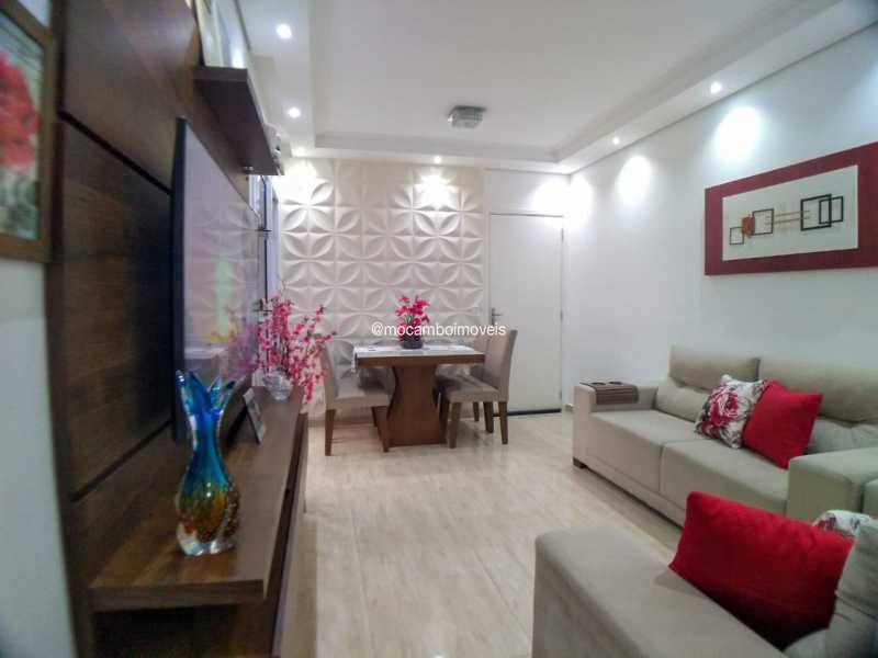 sala - Apartamento 2 quartos à venda Itatiba,SP - R$ 223.000 - FCAP21283 - 1